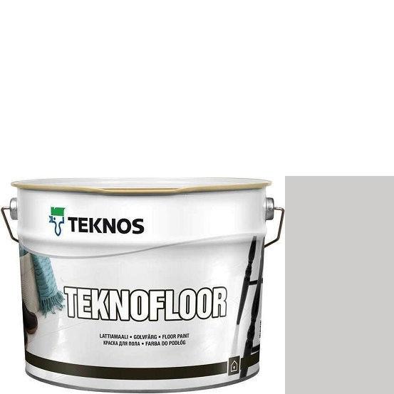 """Фото 1 - Краска Текнос """"Текнофлор"""" Т4024 (Teknofloor) уретано-алкидная глянцевая однокомпонентная для пола (9 л) """"Teknos""""."""