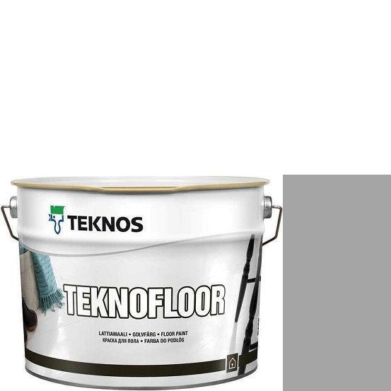 """Фото 1 - Краска Текнос """"Текнофлор"""" Т4025 (Teknofloor) уретано-алкидная глянцевая однокомпонентная для пола (9 л) """"Teknos""""."""