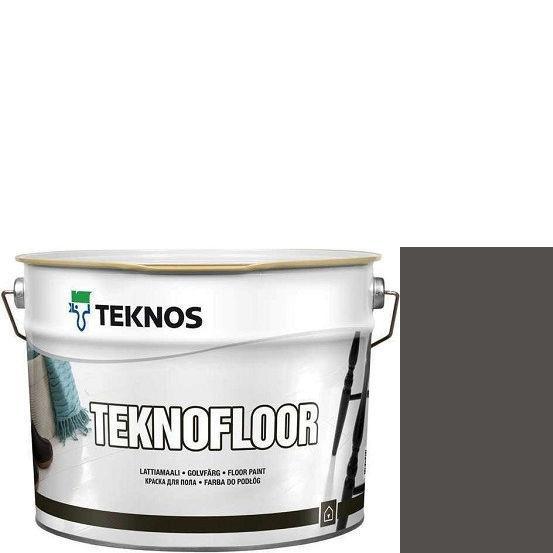 """Фото 1 - Краска Текнос """"Текнофлор"""" Т4027 (Teknofloor) уретано-алкидная глянцевая однокомпонентная для пола (2.7 л) """"Teknos""""."""