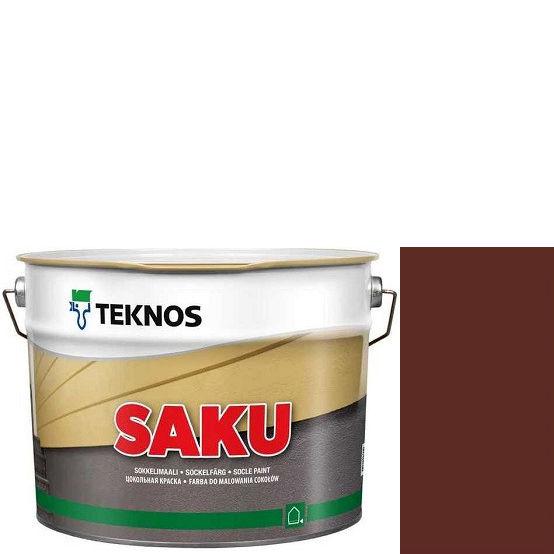 """Фото 1 - Краска Текнос фасадная """"Цаку"""" Т7081 (Saku) дисперсионная матовая для бетонных поверхностей (9 л) """"Teknos""""."""