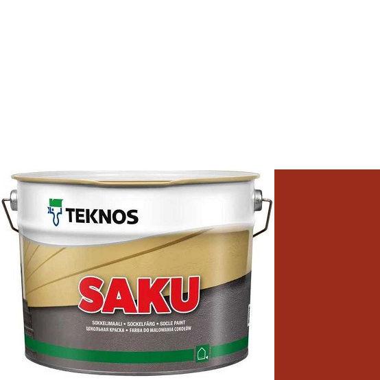 """Фото 1 - Краска Текнос фасадная """"Цаку"""" Т7082 (Saku) дисперсионная матовая для бетонных поверхностей (9 л) """"Teknos""""."""