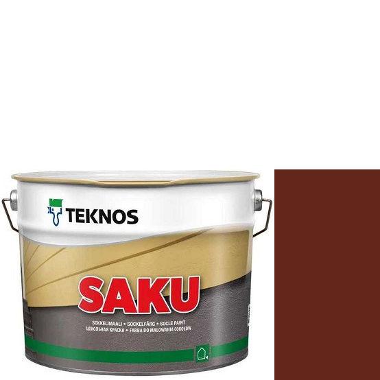 """Фото 1 - Краска Текнос фасадная """"Цаку"""" Т7084 (Saku) дисперсионная матовая для бетонных поверхностей (2.7 л) """"Teknos""""."""