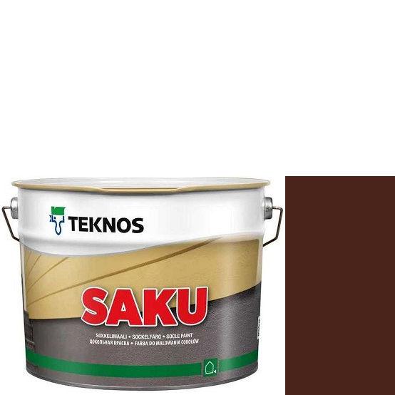 """Фото 1 - Краска Текнос фасадная """"Цаку"""" Т7091 (Saku) дисперсионная матовая для бетонных поверхностей (2.7 л) """"Teknos""""."""