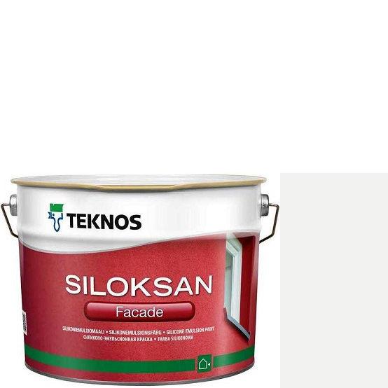 "Фото 7 - Краска Текнос фасадная ""Силоксан Фасад"" S1000-N (Siloksan Facade) силиконовая матовая (2.7 л) ""Teknos""."