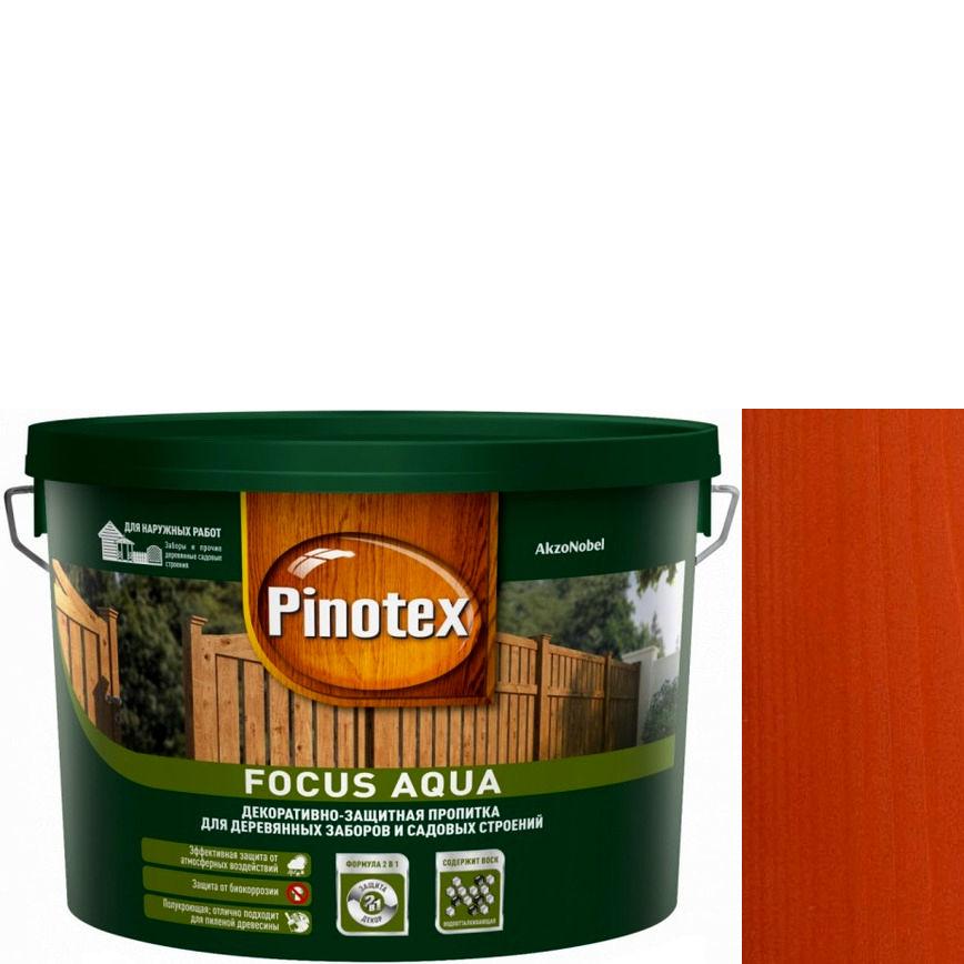 """Фото 11 - Пропитка """"Pinotex Focus Aqua"""" Рябина, полуматовая для защиты древесины  (5 л) """"Пинотекс""""."""