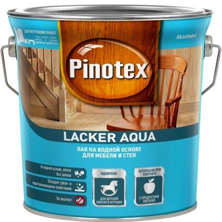 """Фото 10 - Лак """"Pinotex Lacker Aqua 10"""" матовый на водной основе для дерева  (2,7 л) """"Пинотекс""""."""