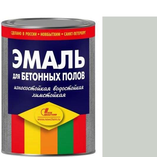 """Фото 2 - Эмаль Новбытхим для бетонных полов  """"Серая"""" матовая износостойкая  - [20 л ] Novbythim."""