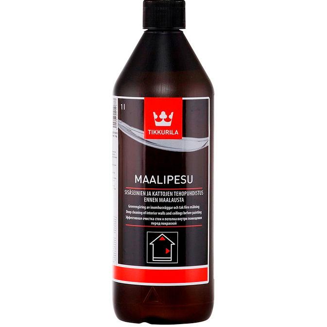 """Фото 1 - Моющее средство Тиккурила """"Маалипесу"""" (Maalipesu) концентрированное для древесины  () (1л) """"Tikkurila""""."""