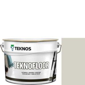 """Фото 1 - Краска Текнос """"Текнофлор"""" Т4001 (Teknofloor) уретано-алкидная глянцевая однокомпонентная для пола (2.7 л) """"Teknos""""."""