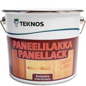 """Фото 5 - Лак Текнос """"ПанеллиЛак Текноска"""" (Paneelilakka) водоразбавляемый полуматовый дисперсионный для панелей (2.7 л) """"Teknos""""."""