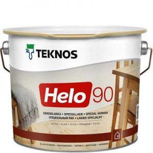 """Фото 5 - Лак Текнос """"Хело 90"""" (Helo 90) уретано-алкидный глянцевый для деревянных поверхностей (2.7 л) """"Teknos""""."""