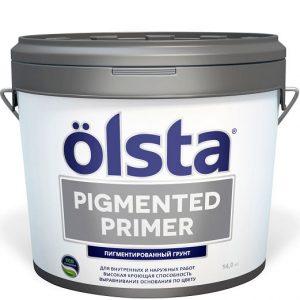 """Фото 8 - Грунт Олста """"Пигментд Праймер  Pigmented Primer"""" укрывающий пигментированный под колеровку (10 л) """"Olsta""""."""