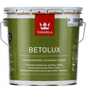 """Фото 5 - Краска Тиккурила """"Бетолюкс"""" (Betolux) уретано-алкидная полуглянцевая для пола  (База А) (0.9л) """"Tikkurila""""."""