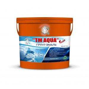 """Фото 4 - Грунт-Эмаль по ржавчине 3в1 TM-AQUA водно-акриловая, RAL 2009 - Транспортный оранжевый, полуматовая 20кг """"Талантливый Маляр""""."""