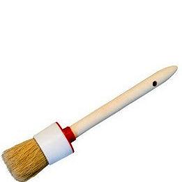 """Фото 1 - Кисть """"Круглая"""" деревянная ручка - (20 мм ) Крафор/Krafor."""