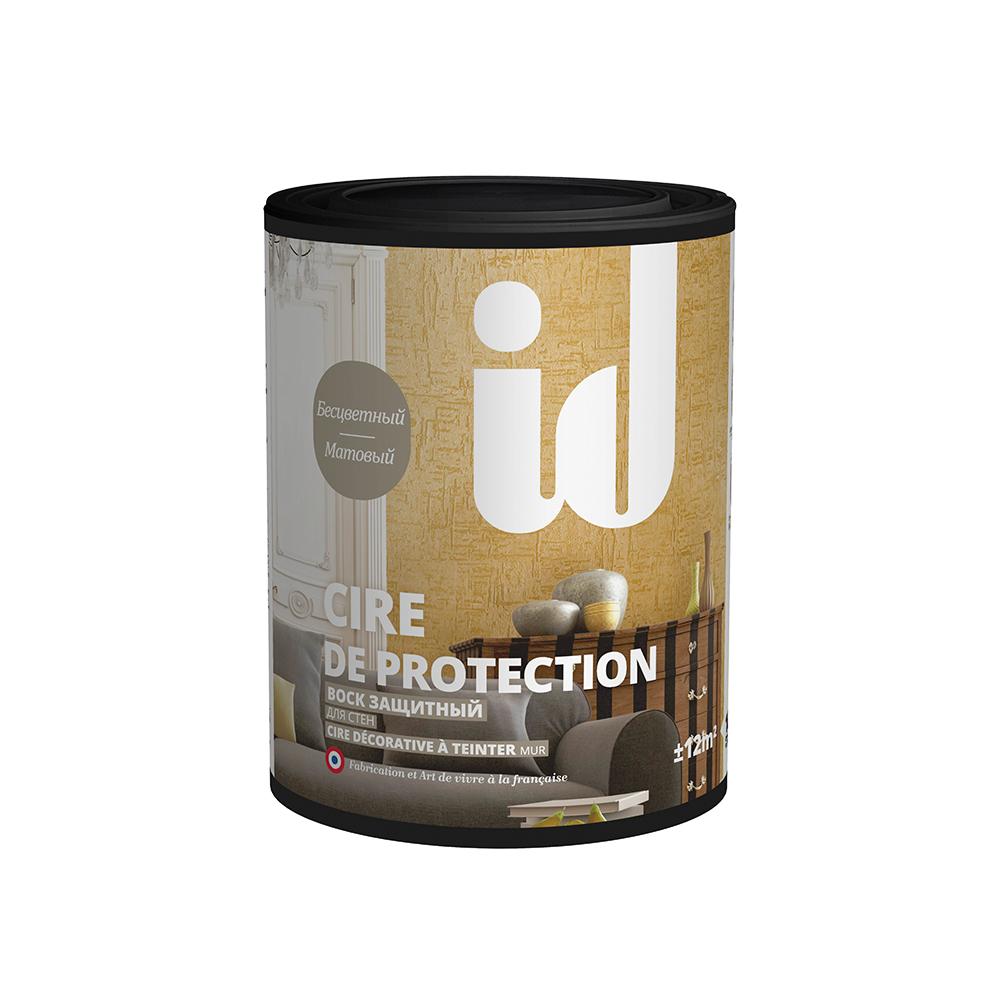 Фото 1 - Воск ID Deco, Cire de protection защитный, матовый, бесцветный, 1 л.