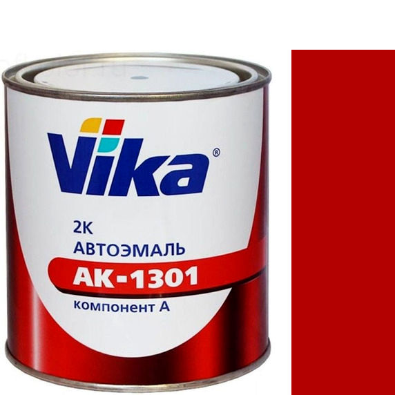"""Фото 5 - Автоэмаль """"АК-1301 110 Рубин"""" акриловая двухкомпонентная полуглянцевая - 0,85 кг."""