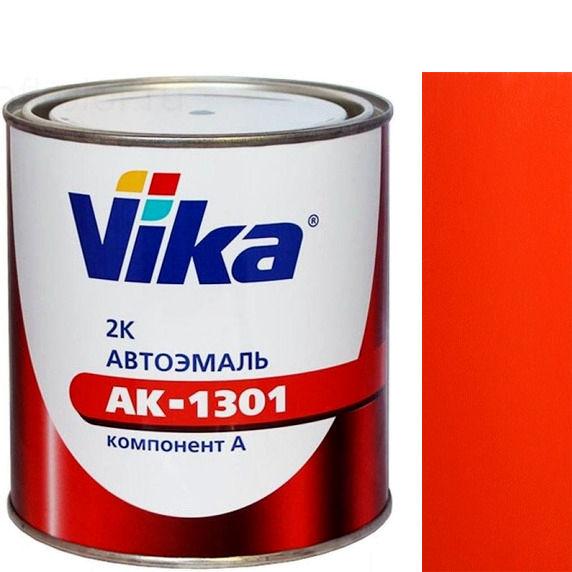 """Фото 10 - Автоэмаль """"АК-1301 165 Тёмная Красно-Оранжевая"""" акриловая двухкомпонентная полуглянцевая - 0,85 кг."""