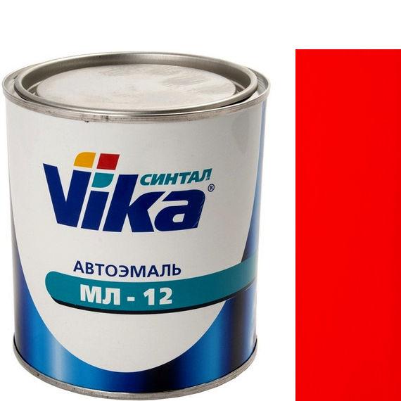 """Фото 2 - Автоэмаль """"МЛ-12 42 Красная"""" меламиноалкидная полуглянцевая профессиональная """"Vika Синтал"""" - 0,8 кг."""