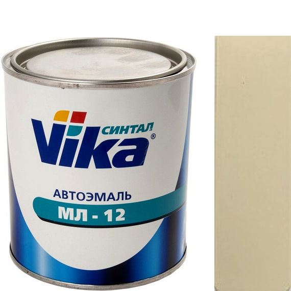 """Фото 7 - Автоэмаль """"МЛ-12 Песочная"""" меламиноалкидная полуглянцевая профессиональная """"Vika Синтал"""" - 0,8 кг."""