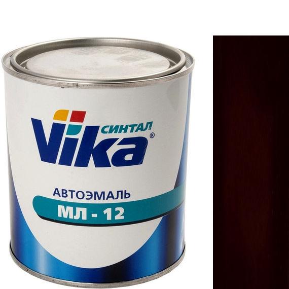 """Фото 8 - Автоэмаль """"МЛ-12 Чёрная"""" меламиноалкидная полуглянцевая профессиональная """"Vika Синтал"""" - 0,8 кг."""