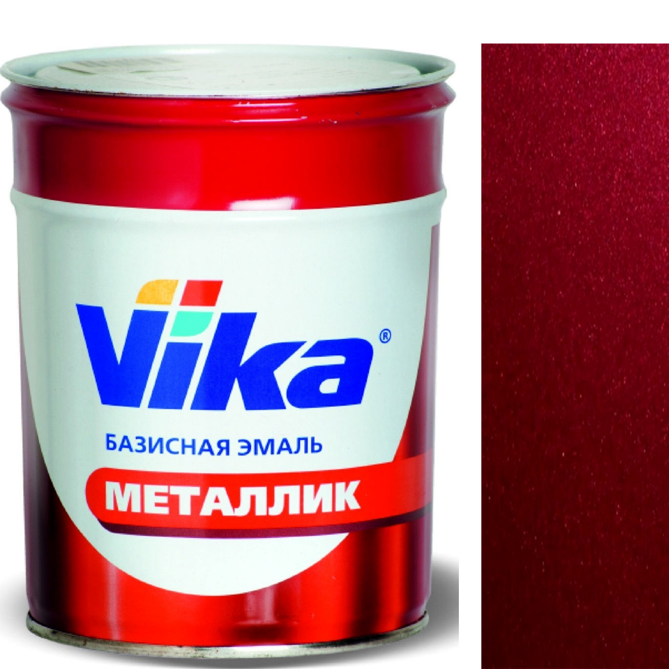 """Фото 4 - Автоэмаль """"Металлик"""" 105 Франкония pearl, профессиональная базовая, - 0,9 кг."""