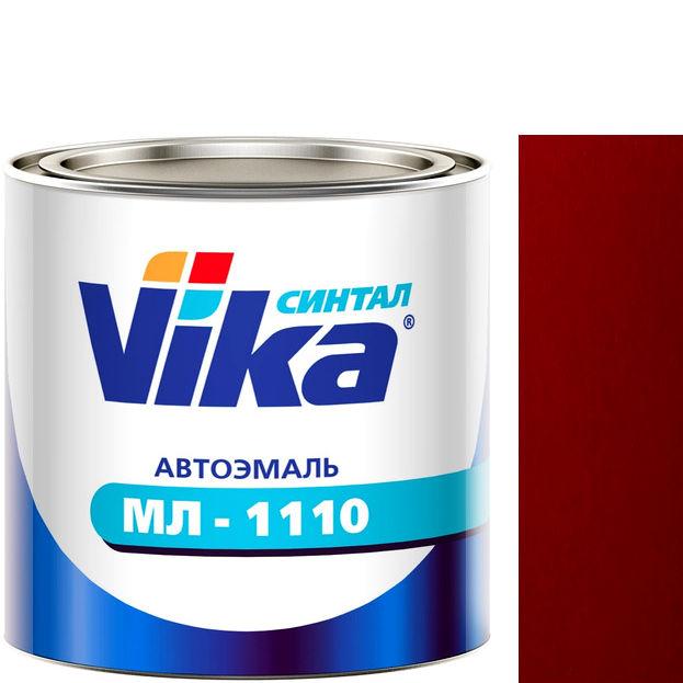 """Фото 8 - Автоэмаль """"МЛ-1110"""" 127 Вишнёвая 02, синтетическая полуглянцевая, - 0,8 кг."""