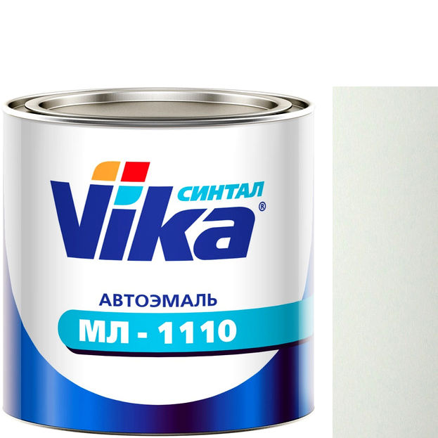"""Фото 10 - Автоэмаль """"МЛ-1110"""" 201 Белая , синтетическая полуглянцевая - 0,8 кг."""