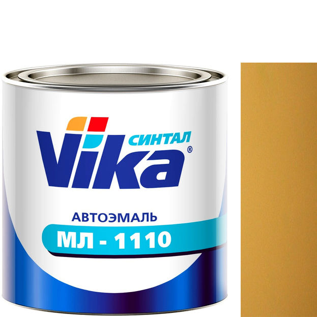 """Фото 13 - Автоэмаль """"МЛ-1110"""" 210 Кремовая, синтетическая полуглянцевая, - 0,8 кг."""