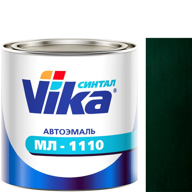 """Фото 17 - Автоэмаль """"МЛ-1110"""" 307 Зелёный сад, синтетическая полуглянцевая, - 0,8 кг."""