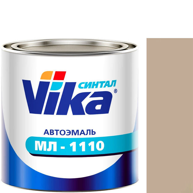 """Фото 1 - Автоэмаль """"МЛ-1110"""" Светлая Серо-Бежевая, синтетическая полуглянцевая, - 0,8 кг."""