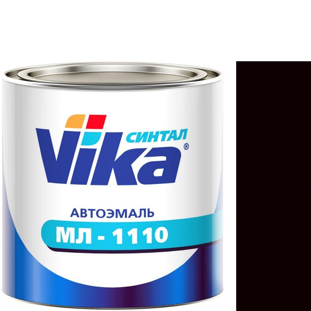 """Фото 1 - Автоэмаль """"МЛ-1110"""" Тёмно-Коричневая, синтетическая полуглянцевая, - 0,8 кг."""