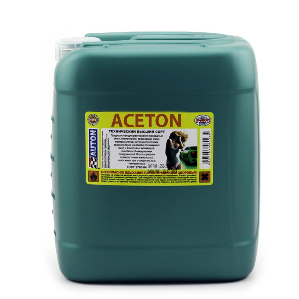 Фото 3 - Aceton Auton на основе полимерных смол 10 л..