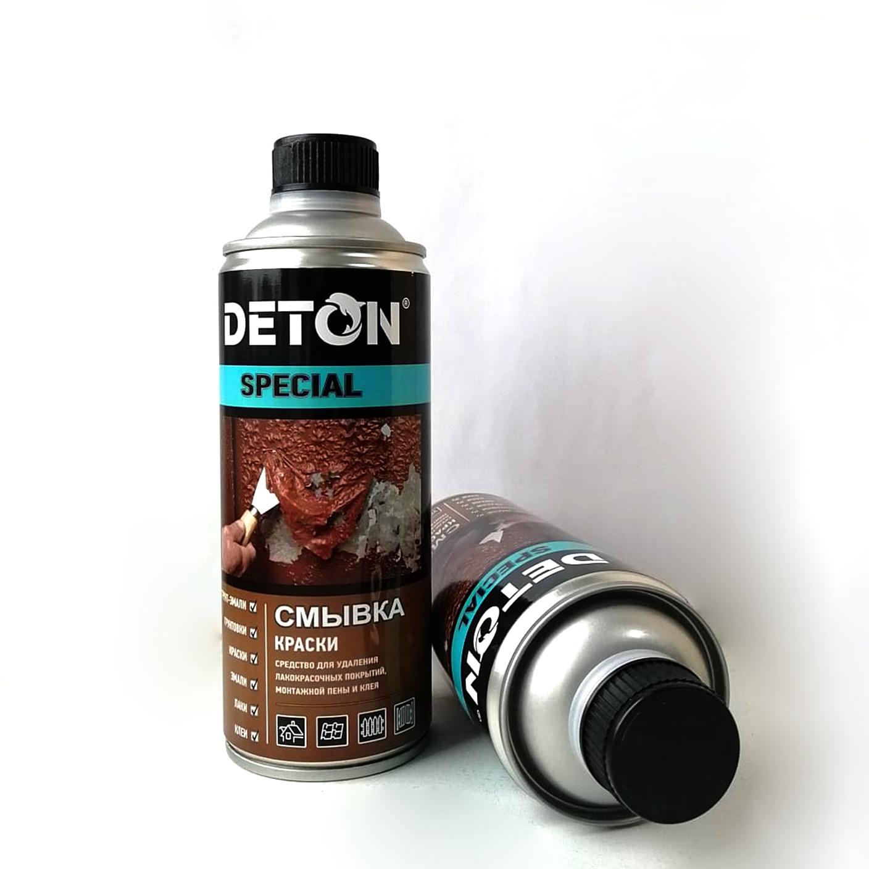 Фото 6 - Смывка старой краски 'Deton Special', универсальная, с пластиковой крышкой Bericap, 520 мл.